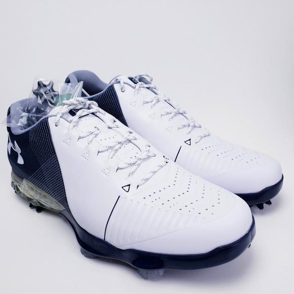 Under Armour Other - Under Armour Men's Spieth 2 Golf Shoes Blue White